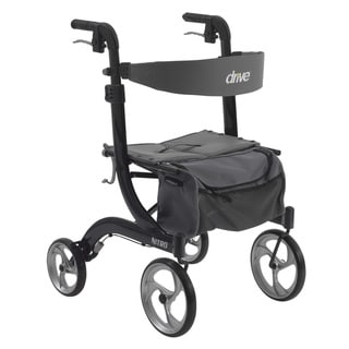 Drive Medical Nitro Euro Style Rollator Walker (Black)
