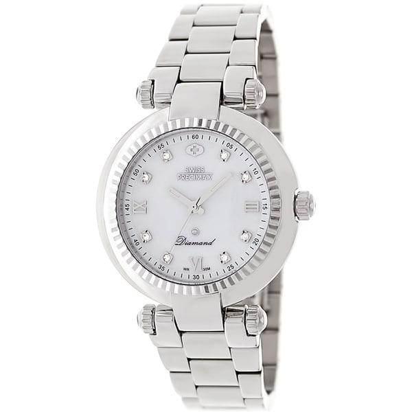 Swiss Precimax Women's Steel Avant Diamond Watch