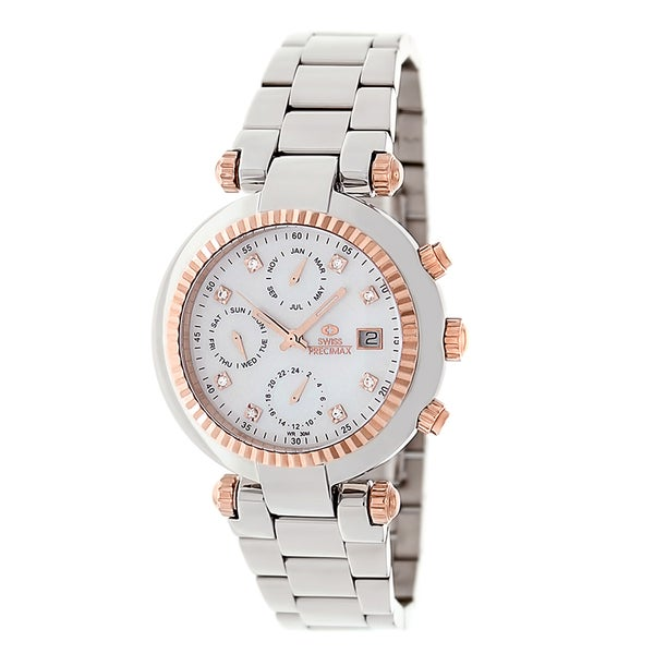 Swiss Precimax Women's Steel Avant Watch