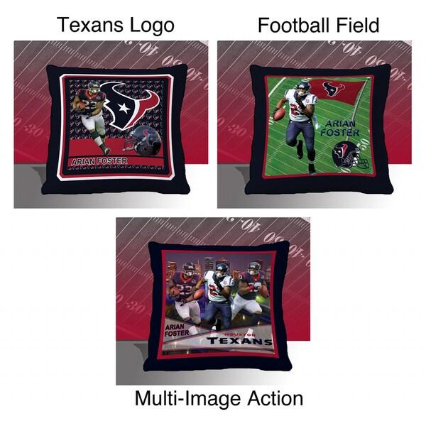 Houston Texans Arian Foster Toss Pillow