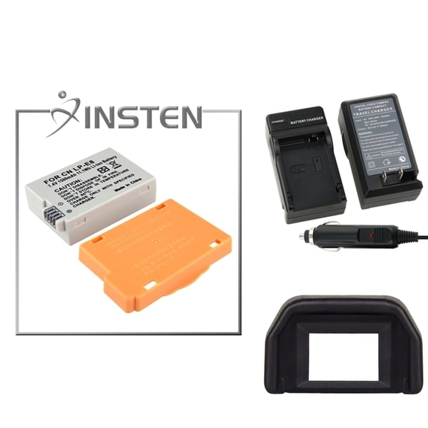 INSTEN Battery/ Eyecup/ Charger for Canon Rebel T2i/ T3i/ Kiss/ X4/ X5