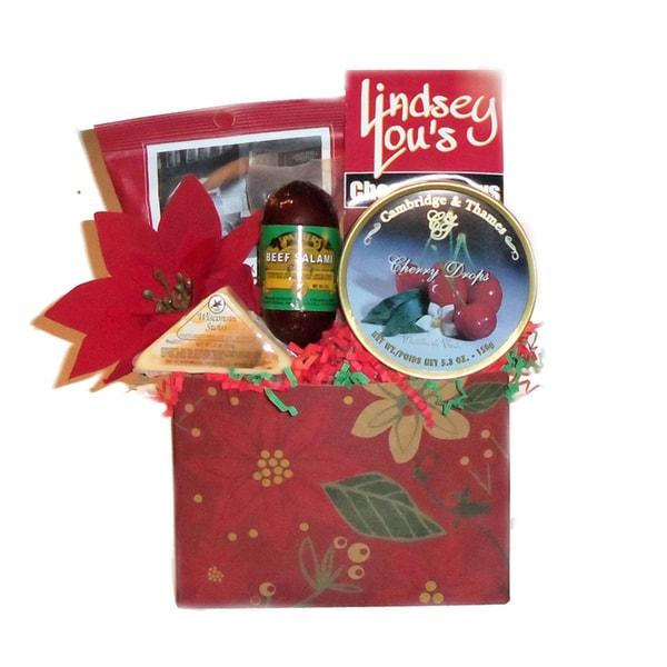 Christmas Joy Gift Basket