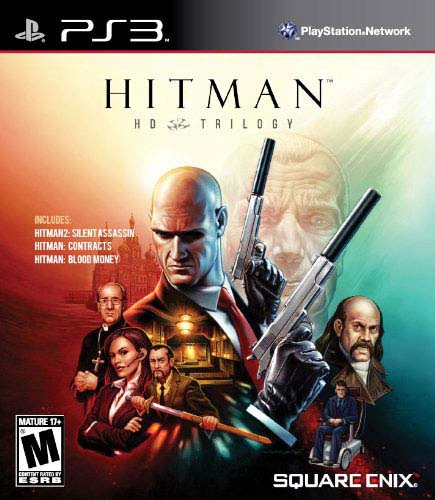 PS3 - Hitman HD Trilogy: Silent Assassin / Contracts / Blood Money