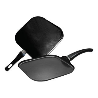 Gourmet Chef 11-Inch Non Stick Square Griddle