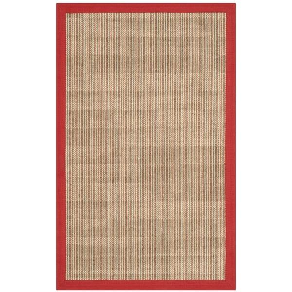 Safavieh Casual Natural Fiber Dream Rust Sisal Rug (2' 6 x 4')