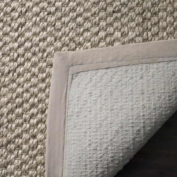 Safavieh Casual Natural Fiber Chunky Basketweave Marble Ivory / Taupe Sisal  Rug   Free Shipping On Orders Over $45   Overstock.com   15002099