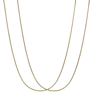 Journee Collection Sterling Silver Gold-plated Chain
