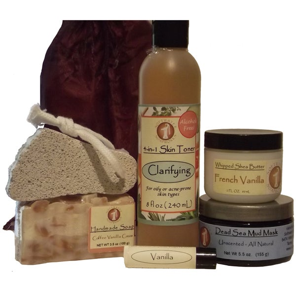 Softwater Soapworks 'Tone Your Skin' Gift Set