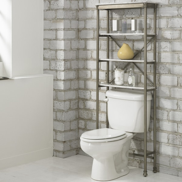 Shop The Orleans Over the Commode Stand by Home Styles - Free Shipping  Today - Overstock.com - 7573860 b0398b5620