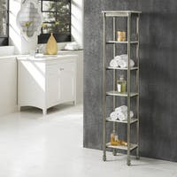 Home Styles 'The Orleans' Steel 6-tier Bathroom Storage Tower