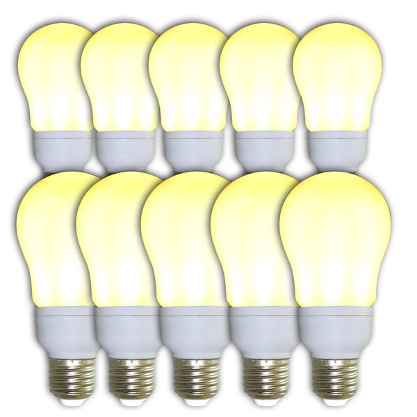 Infinity Ultra 63 Frosted Warm White LED Light Bulbs (Pack of 10)