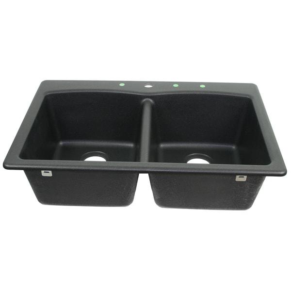 Franke USA Undermount Double Bowl Granite Sink EDOX33229-1 - Free ...