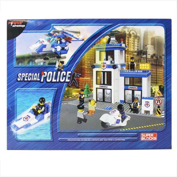 Power Advantage Special Police (SWAT) Blocks (460 Pieces)