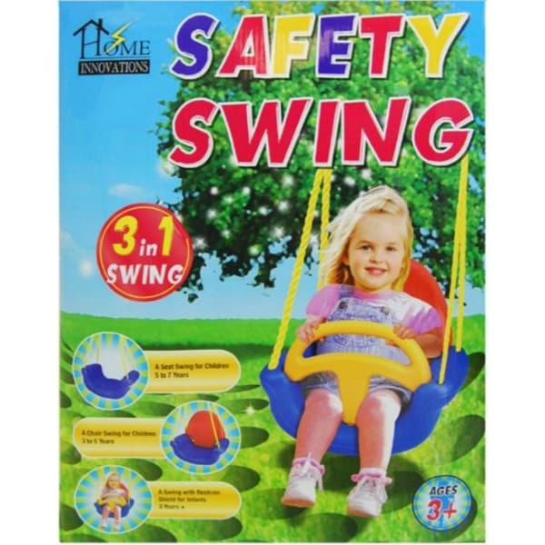 Home Innovations 3-in-1 Safety Infant & Child Swing