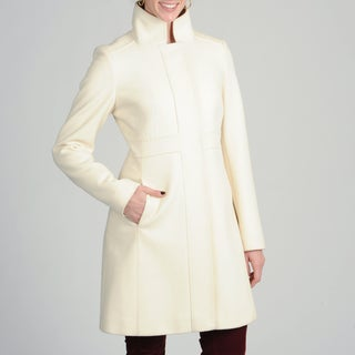 Via Spiga Women's Italian Cashmere-wool Blend Coat