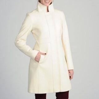 Via Spiga Women's Italian Cashmere-wool Blend Coat