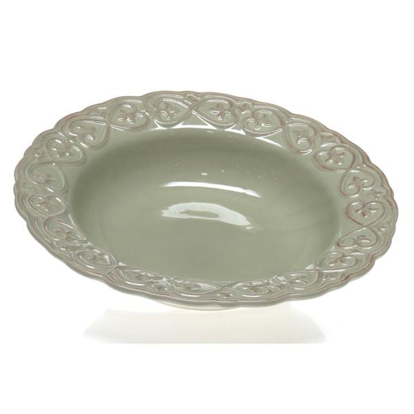 Certified International 'Adeline Green' Pasta/ Serving Bowl