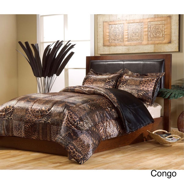 VCNY Satin 4-piece Comforter Set