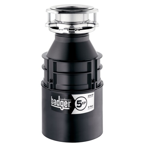 Badger 5 XP 3/4 Horsepower Garbage Disposer