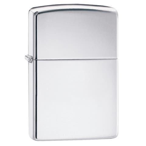 Zippo Polished Chrome Lighter