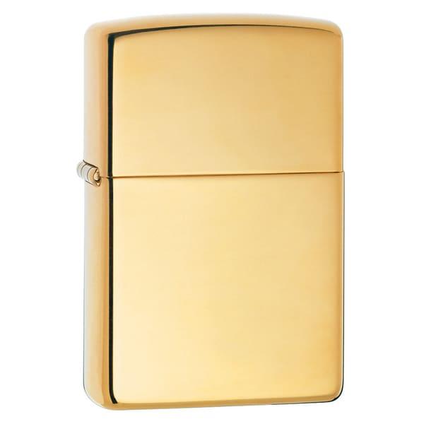 Zippo Polished Brass Lighter