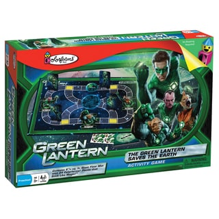 The Green Lantern Saves the Earth Activity Game