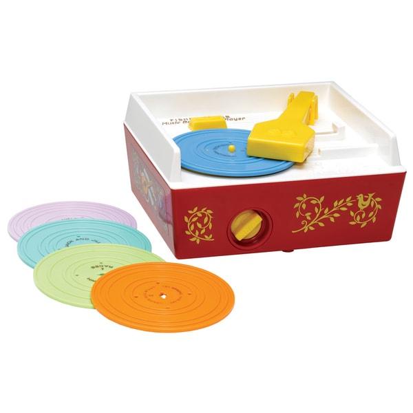 Fisher-Price Music Box Record Player