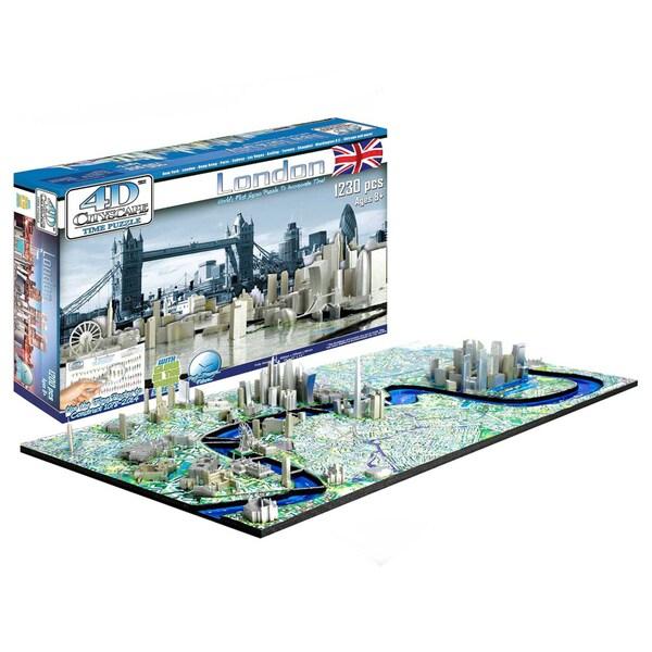 4D Cityscape Puzzle: London