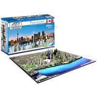 4D Cityscape Puzzle: Toronto