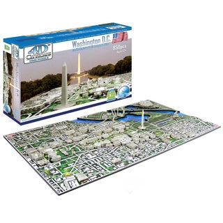 4D Cityscape Puzzle: Washington DC