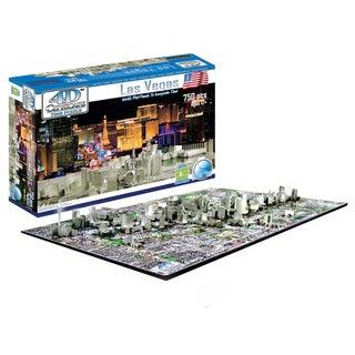 4D Cityscape Puzzle: Las Vegas