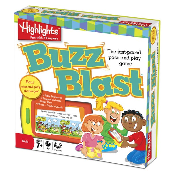 Highlights 'Buzz Blast' Fun with a Purpose Game