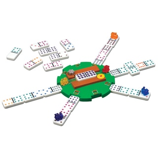 Mexican Train Dominoes Game in a Tin
