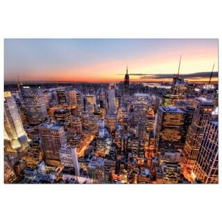 John N. Hansen Co. 'Manhattan Sunset' 3000-piece Puzzle
