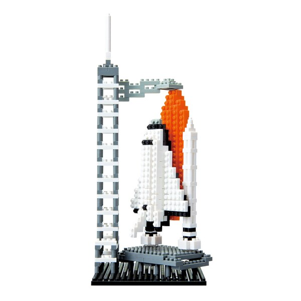 nanoblock® Sites to See Level 3 - Space Shuttle: 580 Pcs
