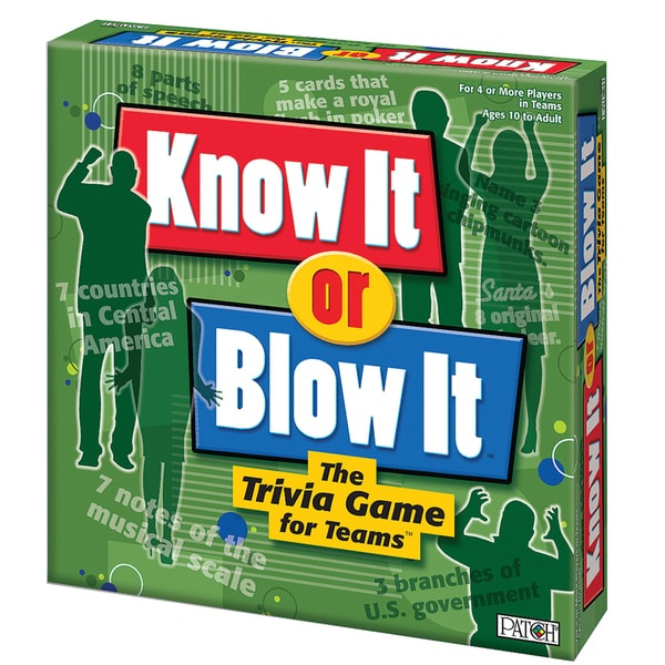 Know It or Blow It Game