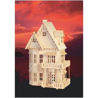 Gothic House Wood 3D Puzzle
