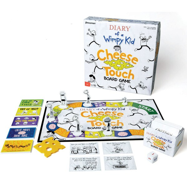 Diary of a Wimpy Kid 'Cheese Touch' Game