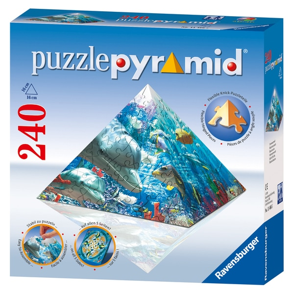 Ravensburger Spirit of the Sea 240-piece Puzzle Pyramid