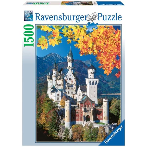 1500-piece Neuschwanstein Castle Puzzle