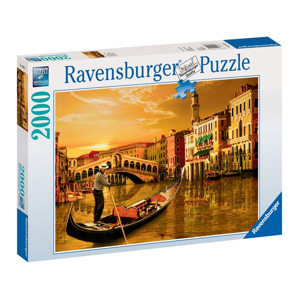 2000-piece Gondolier in Venice Puzzle