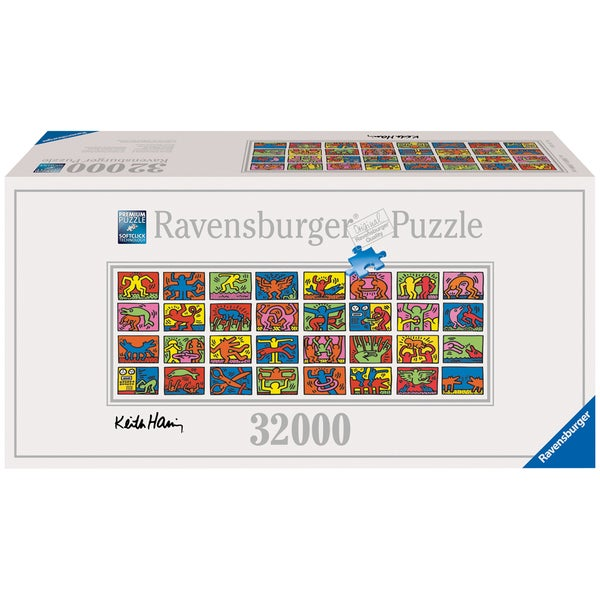 32,000-piece Keith Haring - Double Retrospect Puzzle