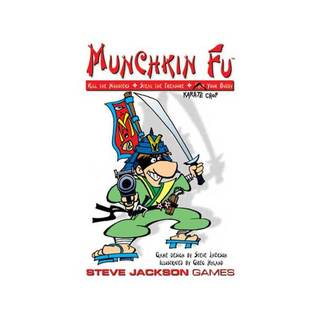 Munchkin Fu Card Game