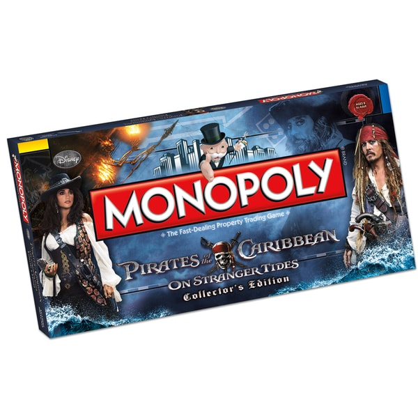 MONOPOLY: Pirates of the Caribbean Trilogy Edition