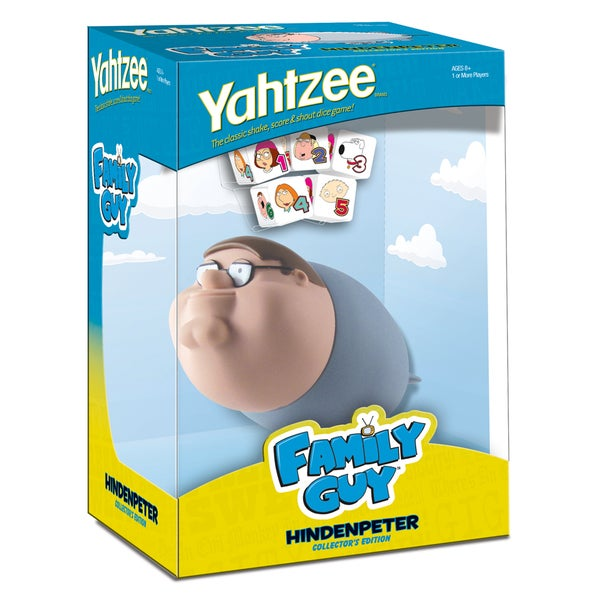 Family Guy Hindenpeter Collector's Edition Yahtzee