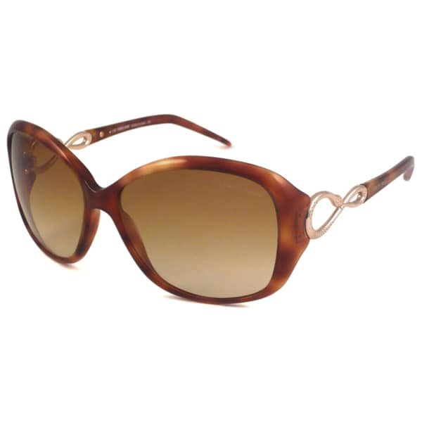 Roberto Cavalli Women's RC520S Gardenia Rectangular Sunglasses