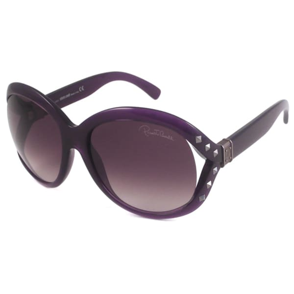 Roberto Cavalli Women's RC598S Balsamina Rectangular Sunglasses
