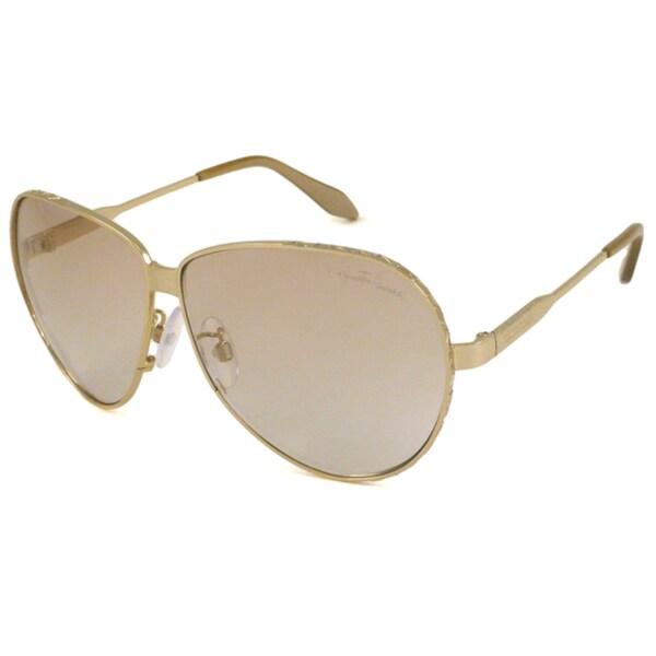 Roberto Cavalli Women's RC661S Passiflora Aviator Sunglasses
