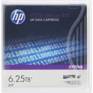 HPE LTO-6 6.25TB Ultrium RW Cartridge