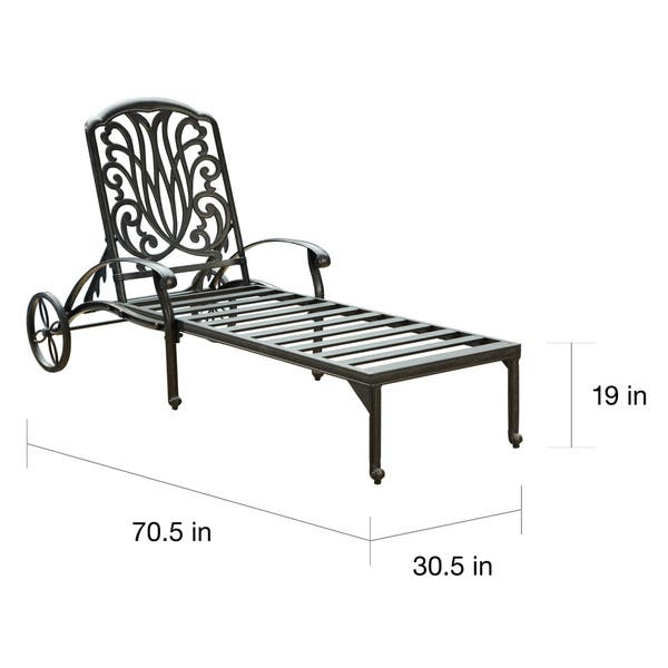 Groovy Shop Havenside Home Montauk Floral Blossom Chaise Lounge Andrewgaddart Wooden Chair Designs For Living Room Andrewgaddartcom